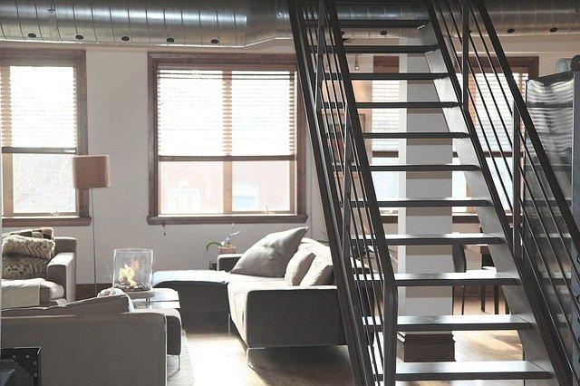 mieszkanie z antresola