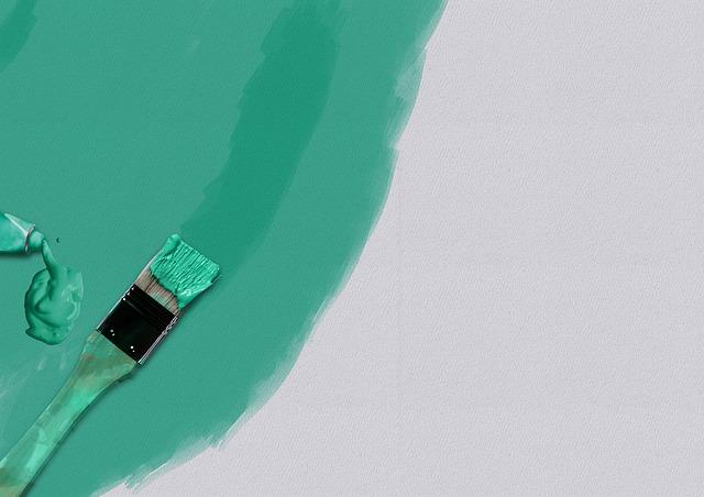 malowanie scian na zielono